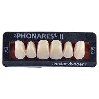 Dente SR Phonares II S62 Anterior Superior - Ivoclar Vivadent