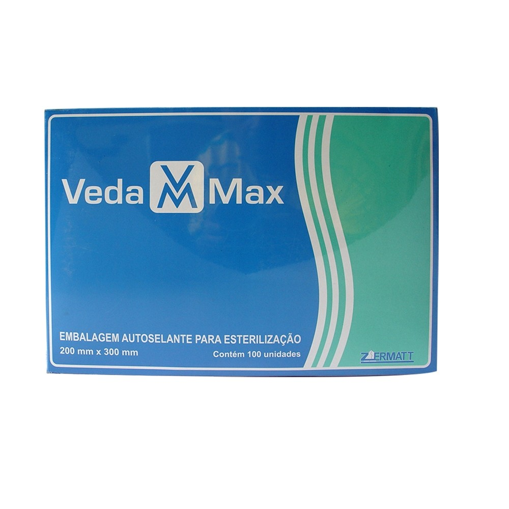 Envelope Autosselante para Esterilização 200x330mm - Vedamax