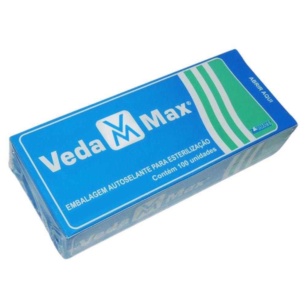 Envelope Autosselante para Esterilização 90x100mm - Vedamax