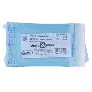 Envelope Autosselante para Esterilização 90x160mm - Vedamax