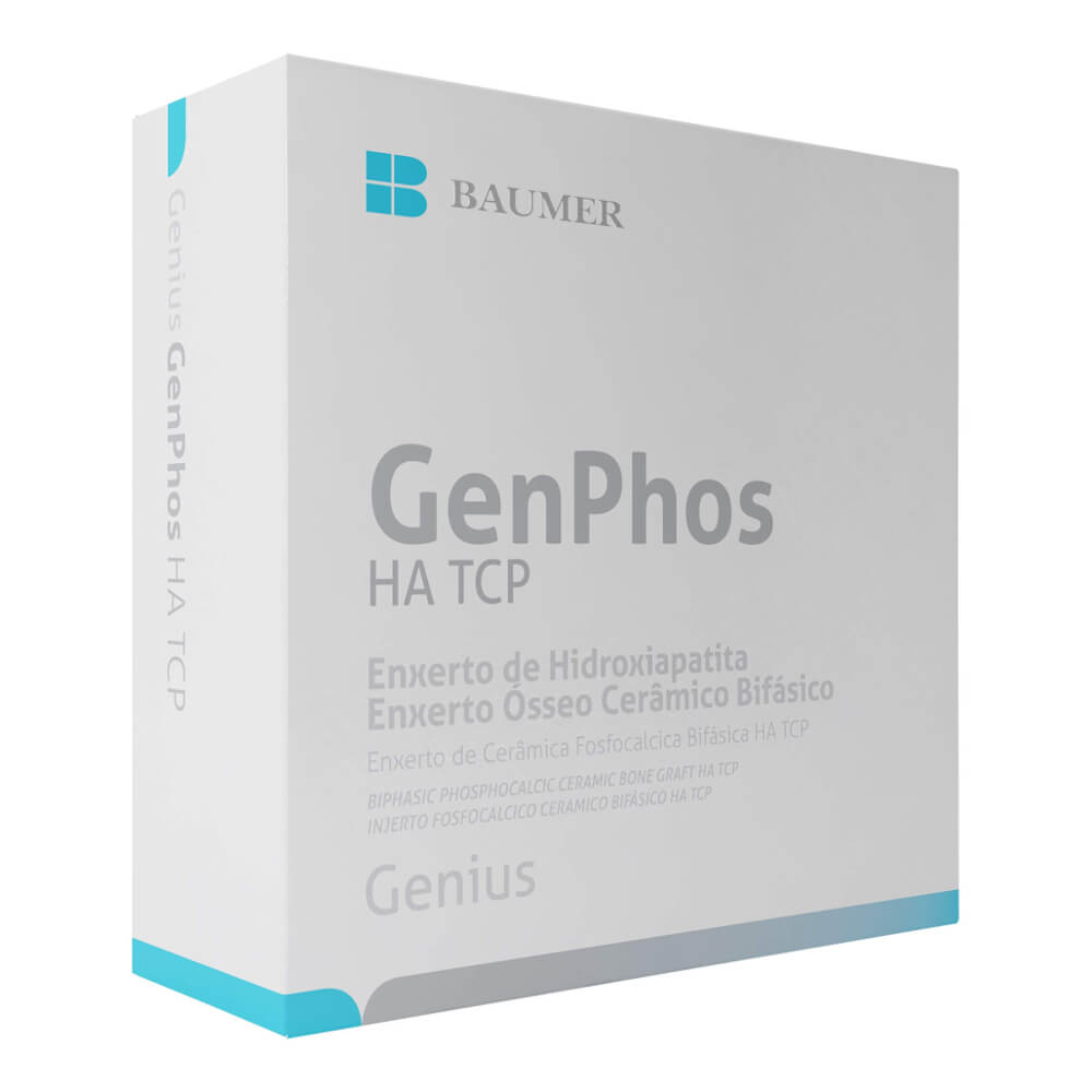 Enxerto Ósseo Sintético GenPhos HA TCP Baumer