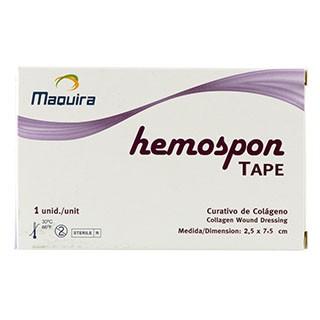 Esponja Hemostática Hemospon Tape - Maquira
