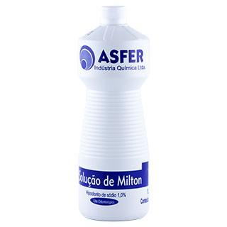 Hipoclorito de Sódio 1,0% Solução de Milton - Asfer