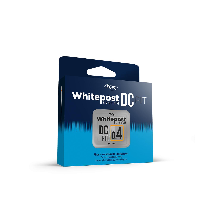 Kit Intro Pino de Fibra de Vidro 0.4 WhitePost DC Fit - FGM