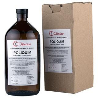 Líquido para Polimento Químico Poli-Quim 1 Litro - Clássico