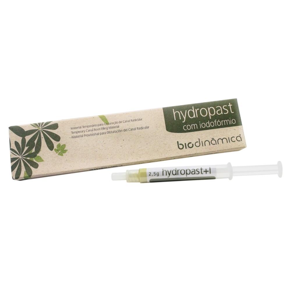 Obturador Provisório Hydropast com Iodofórmio - Biodinâmica