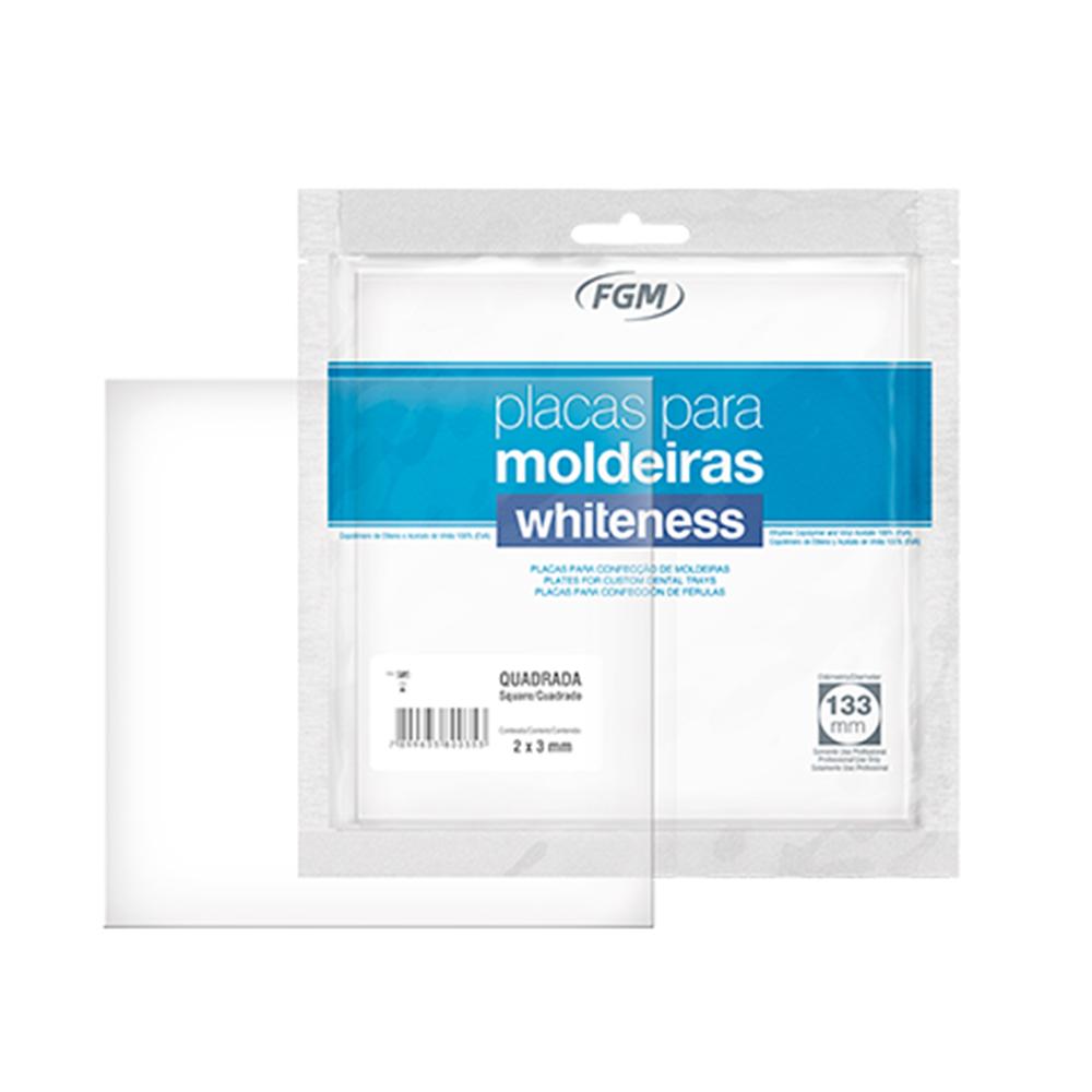 Placa Quadrada para Moldeira de Clareamento Whiteness - FGM