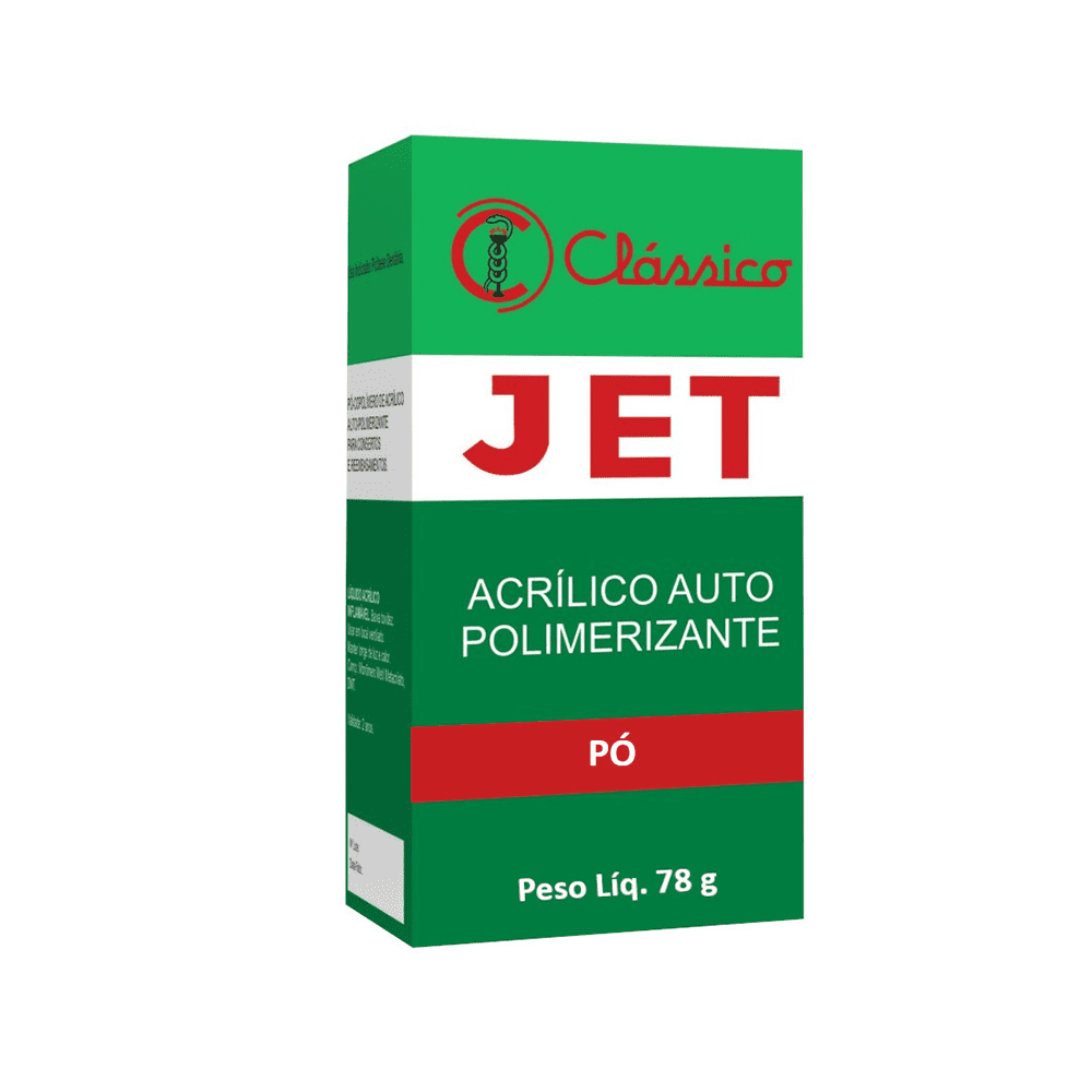 Resina Acrílica Auto Jet Pó 78 Gramas - Clássico