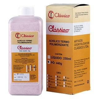 Resina Acrílica Termo Líquido 1 Litro - Clássico
