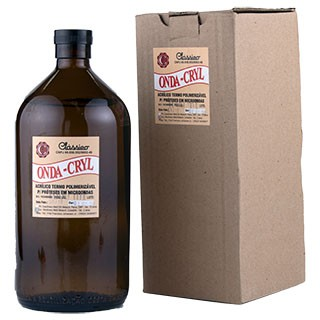 Resina Acrílica Termo Onda-Cryl Líquido - Clássico