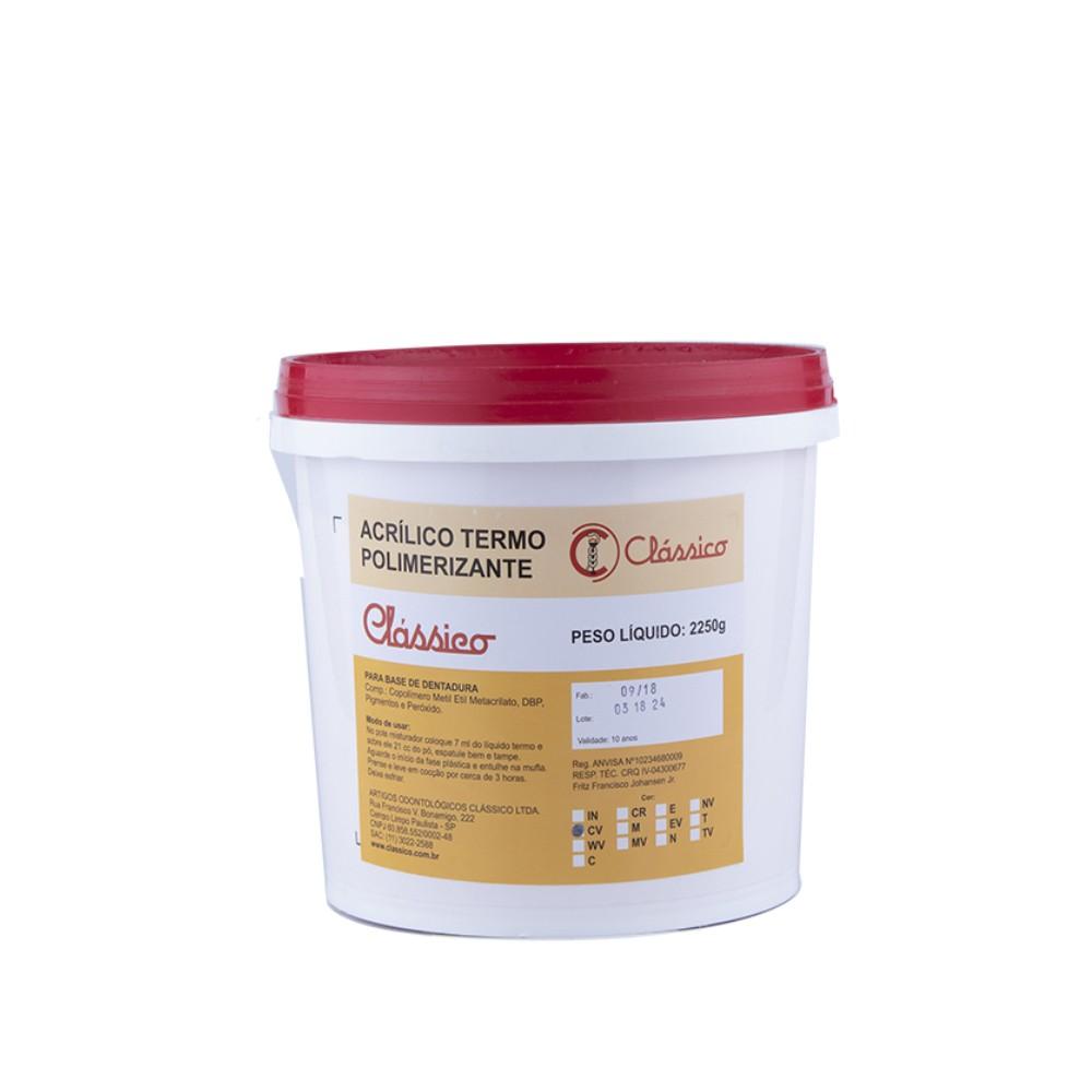 Resina Acrílica Termo Pó 2250Kg - Clássico
