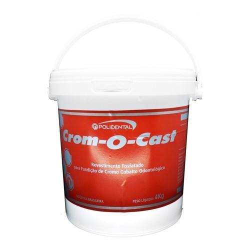 Revestimento Crom-O-Cast 4Kg Polidental