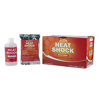 Revestimento Heat Shock Kit - Polidental