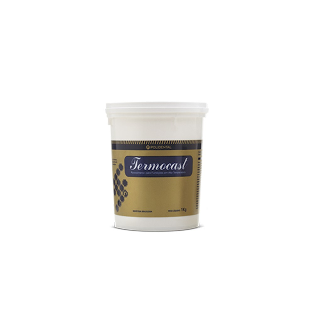 Revestimento Termocast Pó 15Kg - Polidental