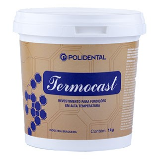 Revestimento Termocast Pó 1Kg - Polidental