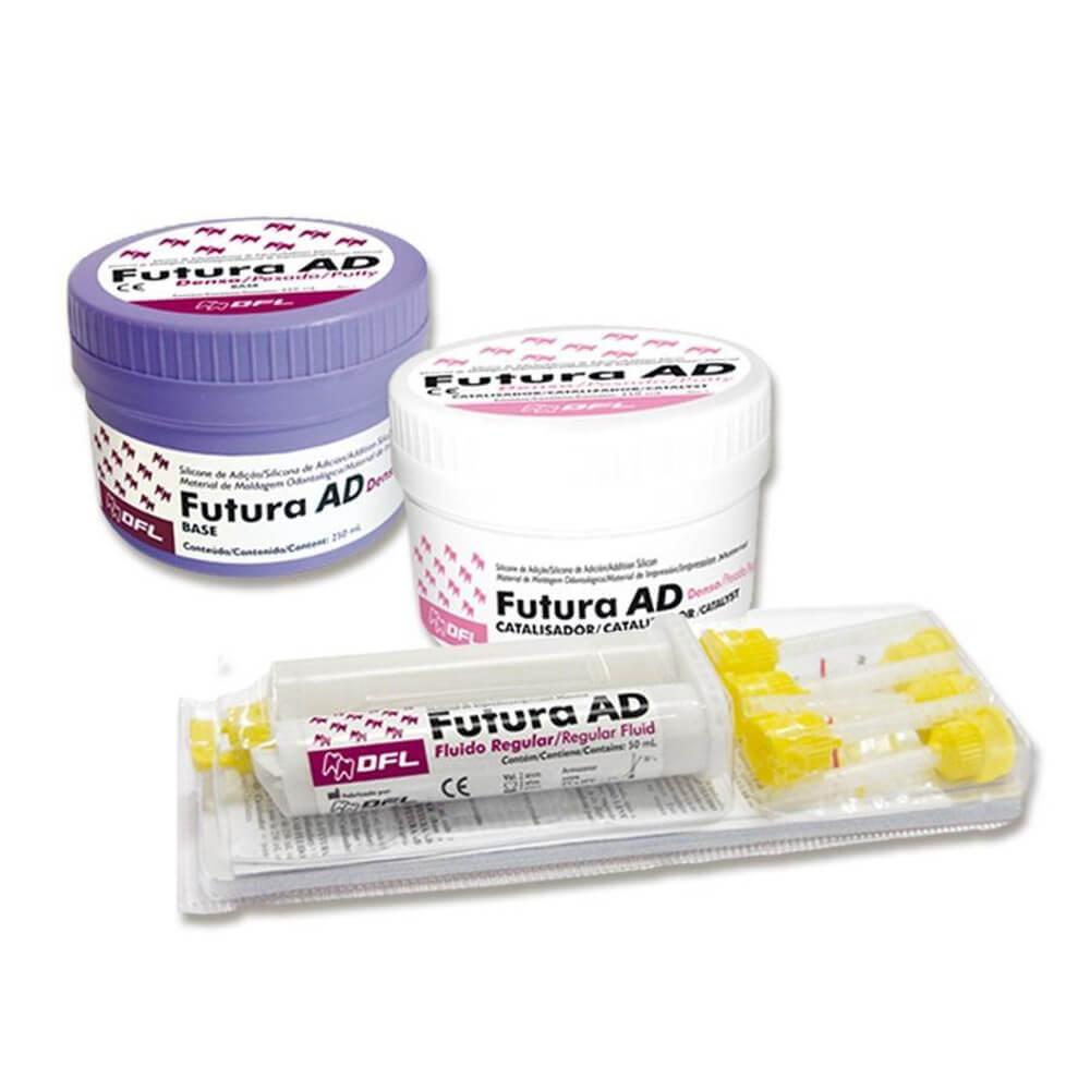 Silicone de Adição Futura AD Kit - Nova DFL