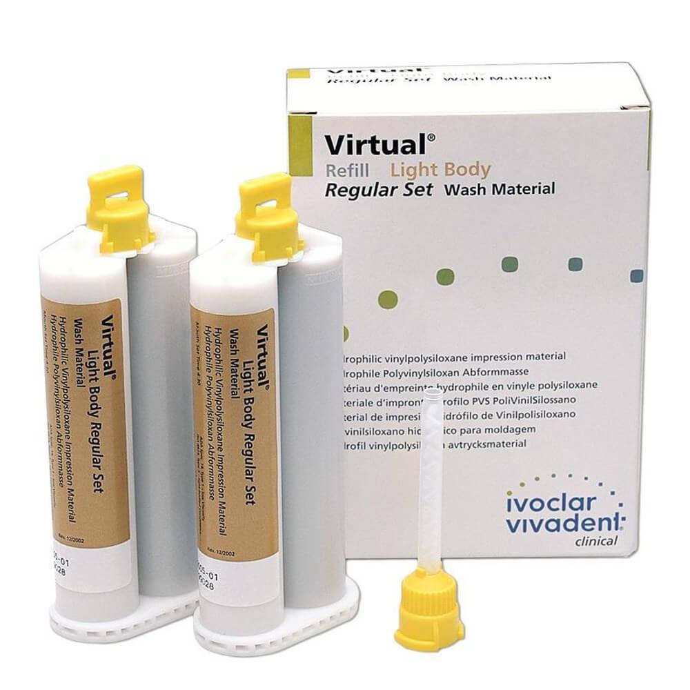 Silicone de Adição Virtual Light Body Regular - Ivoclar Vivadent