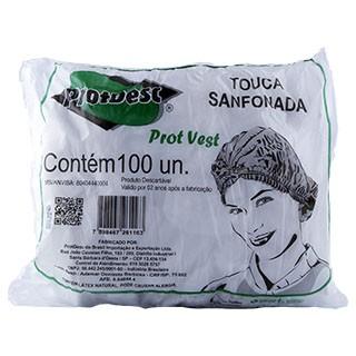 Touca Sanfonada Descartável - Protdesc