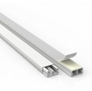 Canaleta 20X10 2M com Adesivo Branca Ilumi para Ar Condicionado Split