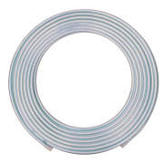 Tubo de Alumínio Flexível 3/8 15m 9,52mm X 0,80mm - Panqueca Hydro