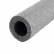 Tubo Esponjoso Isolante para Dreno 28 X 5 2M Cinza Polietileno Expandido