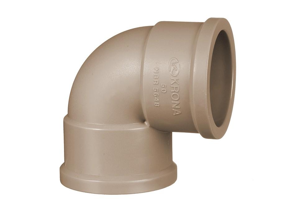 Curva de PVC 20mm Soldável Krona