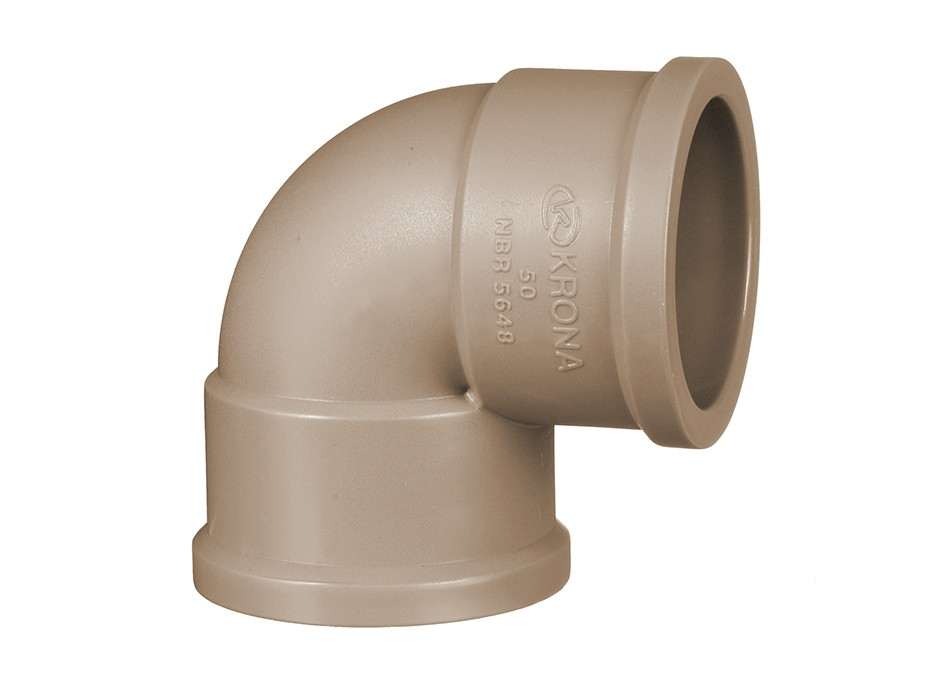 Curva PVC 90° 25mm Soldável Krona