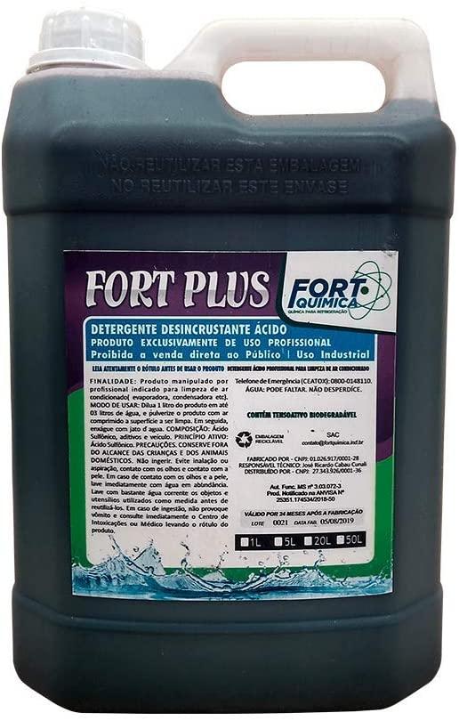 Detergente Acido Fort Plus 1 Litro