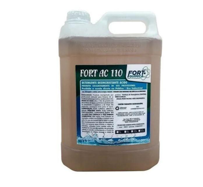 Detergente Desincrustante Acido Max Clean Fort Ac110 5 litros
