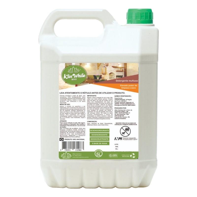 Detergente Multiuso Klin White Max 5 litros