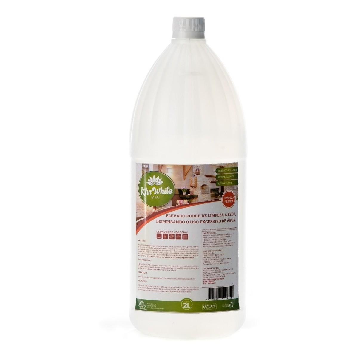 Detergente Multiuso Klin White Max 2 litros