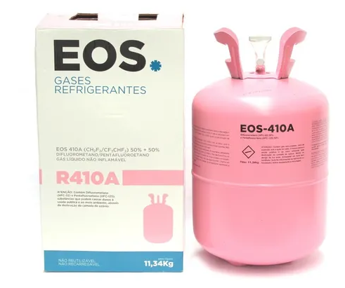 Gás Refrigerante R410A Cilindro 11,34Kg Eos