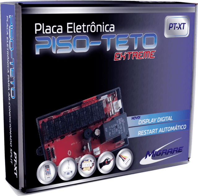 Placa Eletrônica Multimarcas Migrare PT-XT Extreme