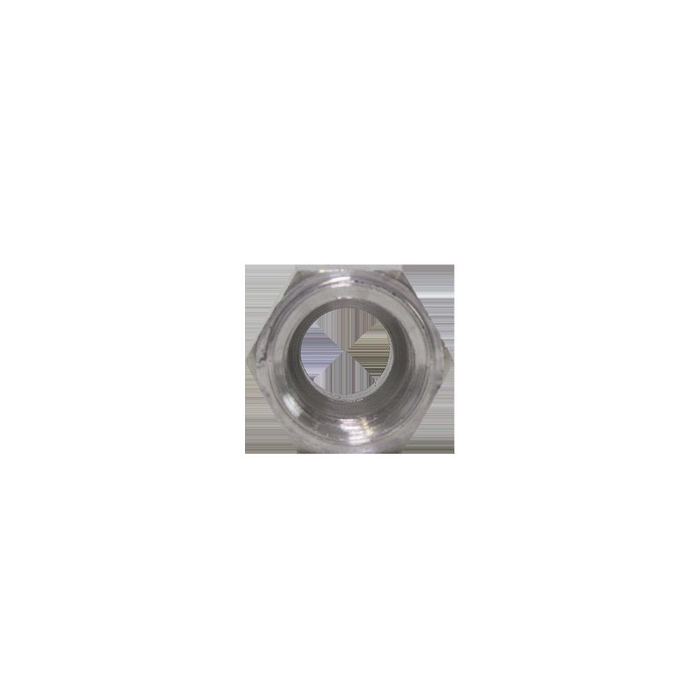 Porca Flange Alumínio 5/8 Migrare Stretto