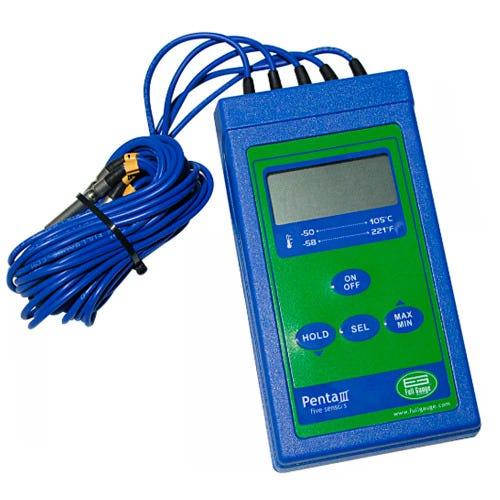 Termômetro Penta III com 5 Sensores