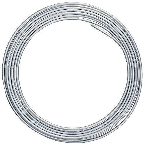 Tubo de Alumínio Flexível 1/4 15m  Panqueca