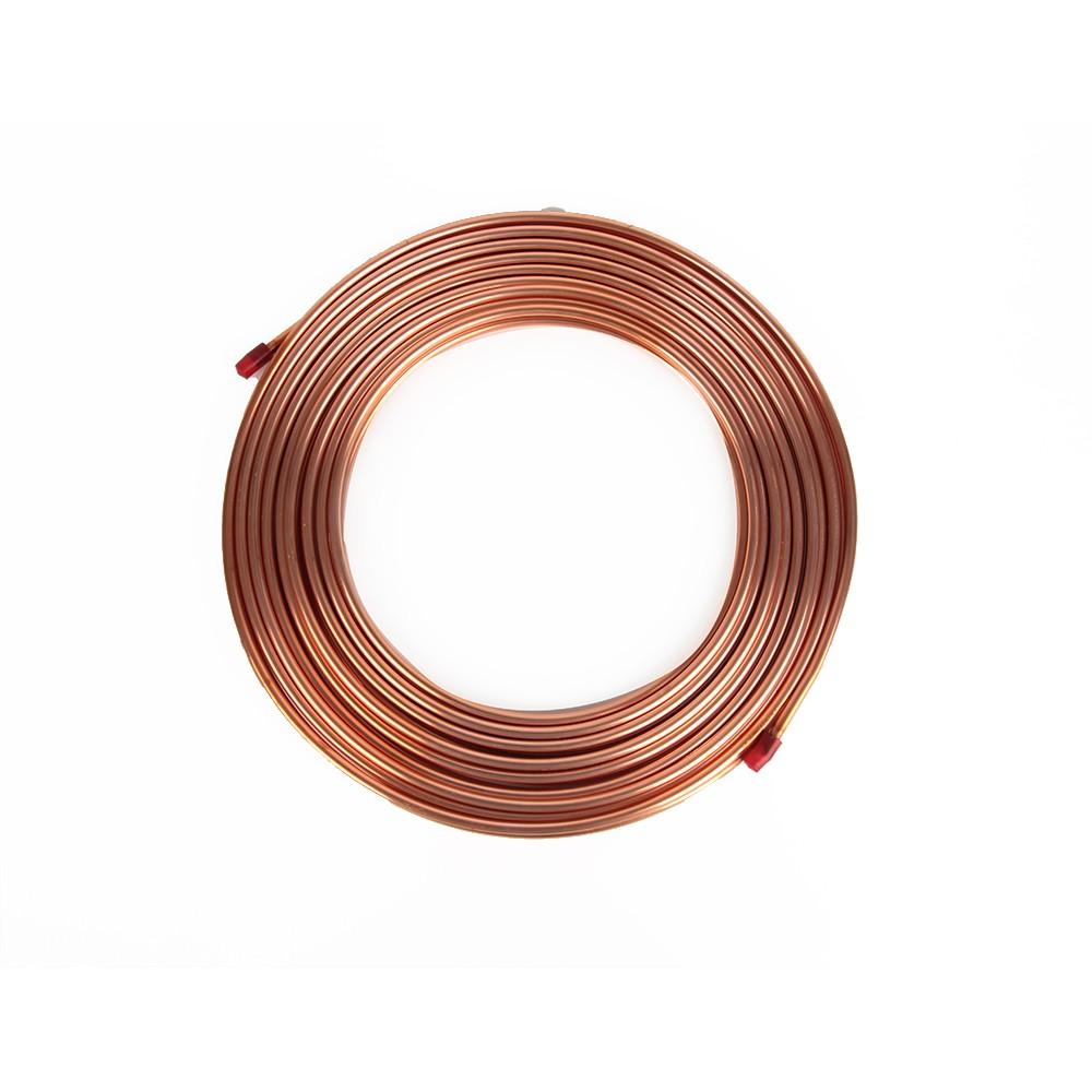 Tubo de Cobre Flexível 1/4 6.35mm 0.123 Eluma - Panqueca