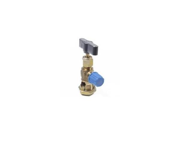 Válvula Perfuradora para R134a Lata Eos