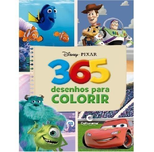 Livro - 365 Desenhos para Colorir Disney Meninos
