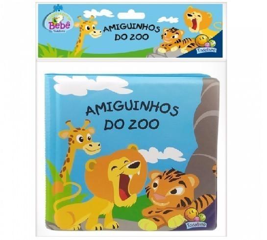 Amiguinhos Livro de Banho: Amiguinhos do Zoo