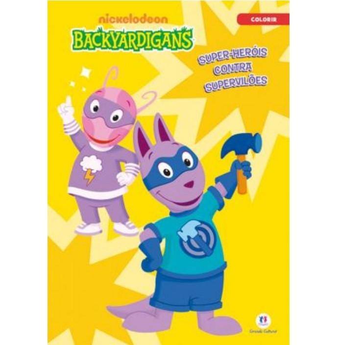 Livro - Backyardigans - Super-Heróis Contra Supervilões