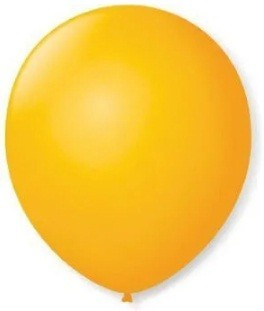 Balão Liso 7,0 Imperial AMARELO SOL (50 Unidades) - São Roque