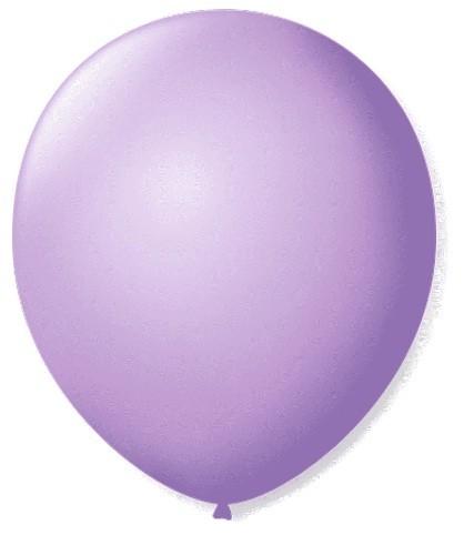 Balão Liso 7,0 Imperial LILÁS (50 Unidades) - São Roque