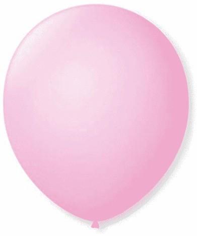 Balão Liso 7,0 Imperial ROSA BABY (50 Unidades) - São Roque