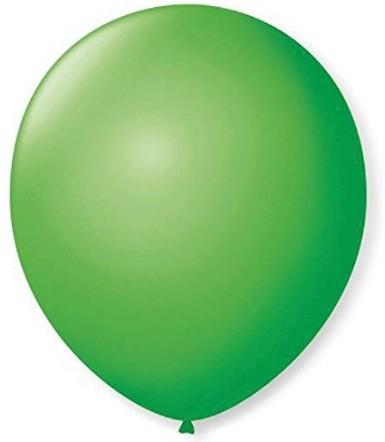 Balão Liso 7,0 Imperial VERDE MACA (50 Unidades) - São Roque