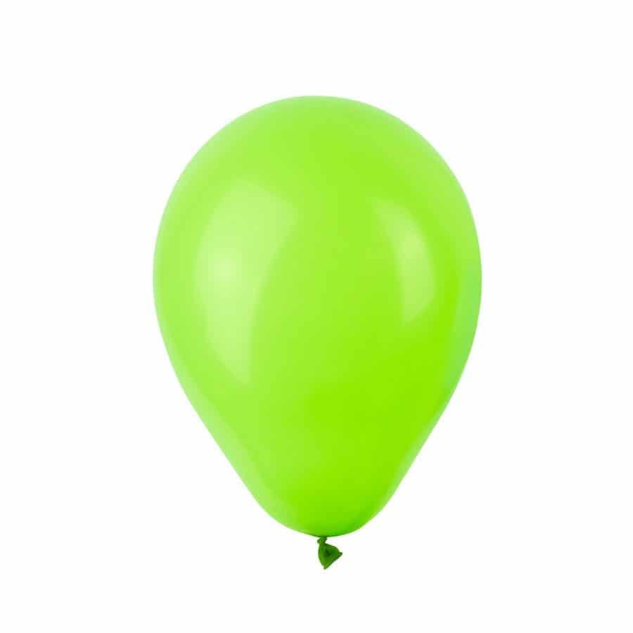 Balão Top 6,5 Liso VERDE LIMÃO (50 Unidades)
