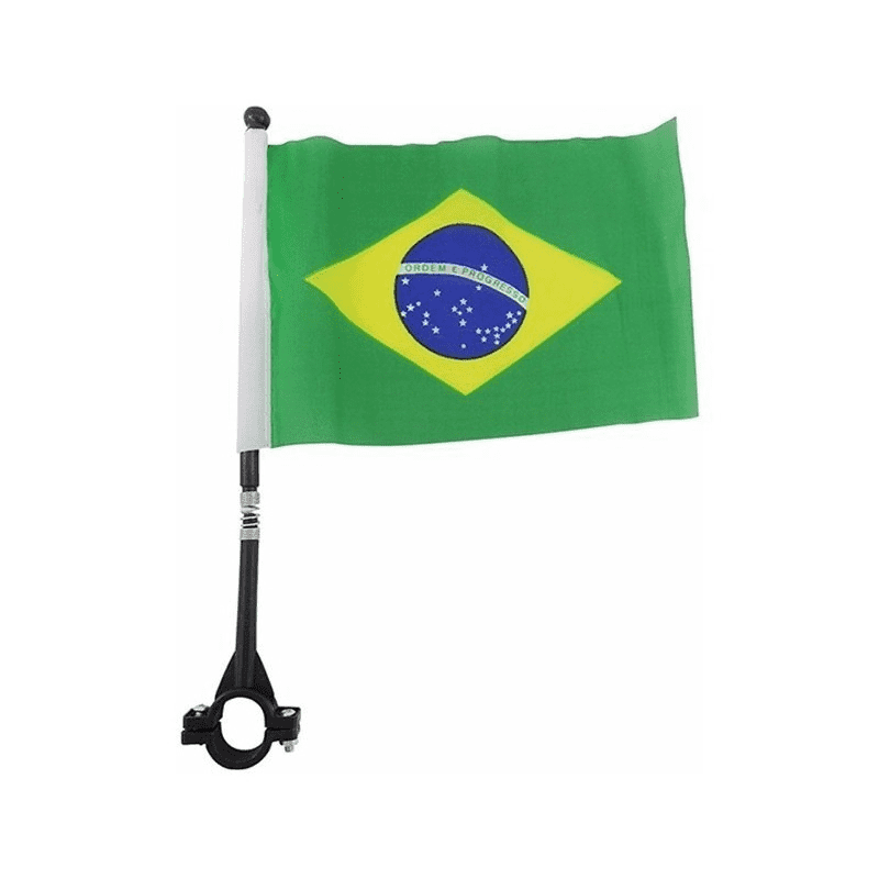 Bandeira para Moto 21 x 14 cm