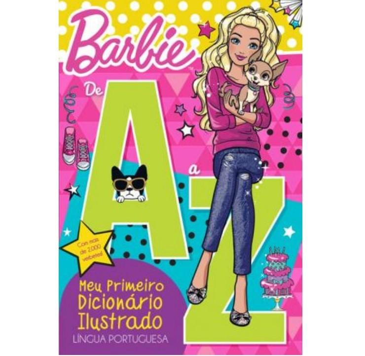 Livro - Barbie - de A a Z - Meu Primeiro Dicionário Ilustrado