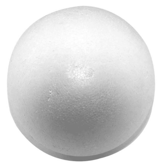 Bola de Isopor 75mm - Styroform