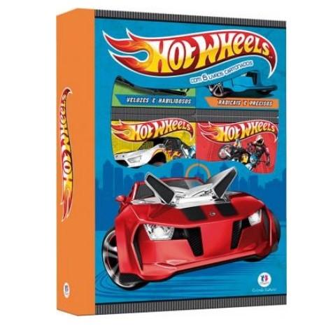Livro - Box Hot Wheels com 6 MiniLivros